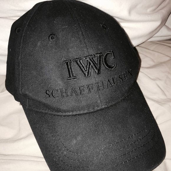 Genuine IWC Baseball Cap in Black brand new with tags.